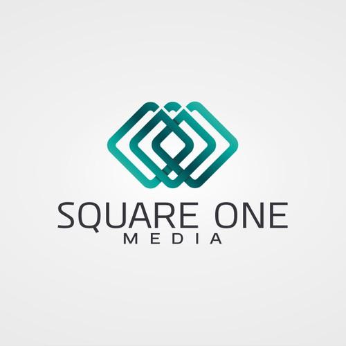 Square One Media Logo Concept