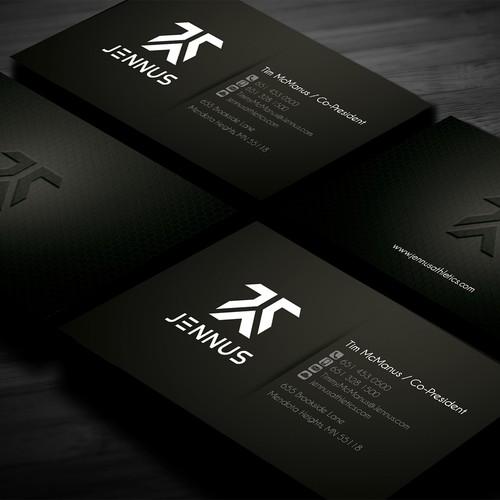 New business card wanted for Jennus / Jennus Athletics / Jennus Athletics Company