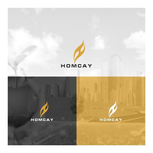HOMCAY - LOGO DESIGN