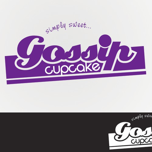 Help Gossip Cupcakes with a new logo