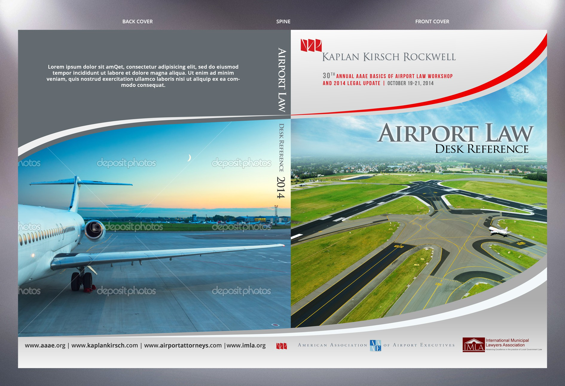Book Cover Needed for Airport Executives