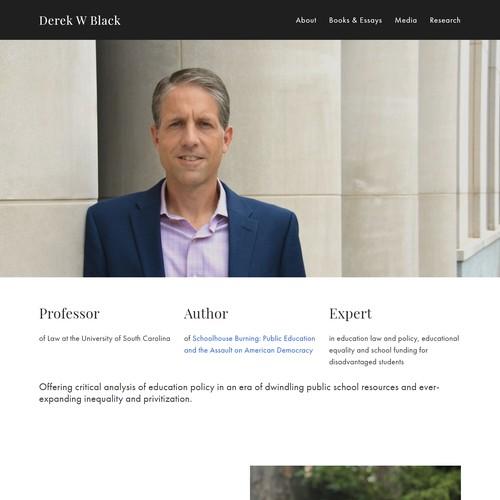 Prof. Derek W. Black