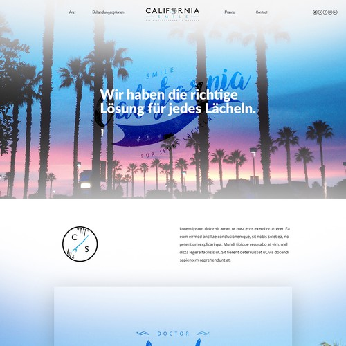 California Smile | Orthodontic Office Website