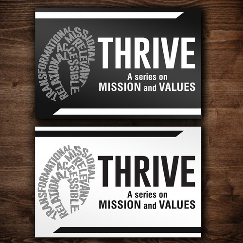 Flyer for Thrive
