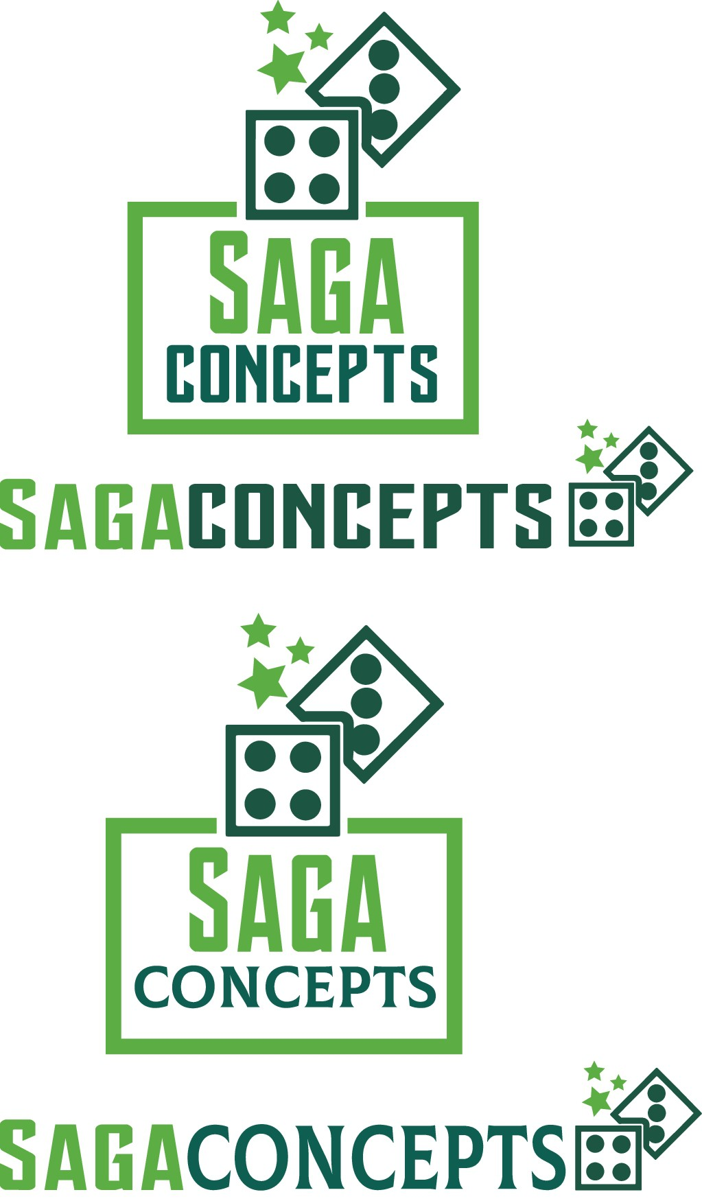 Online Retail Game Company Logo