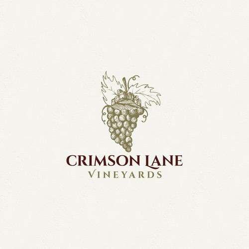 Logo design for winery.