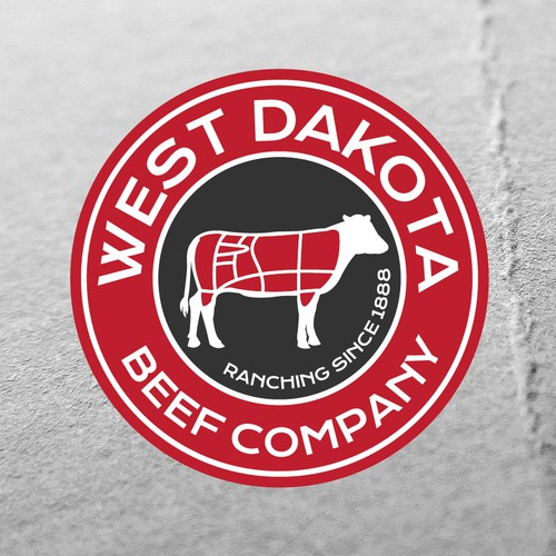 logo for high quality beef business
