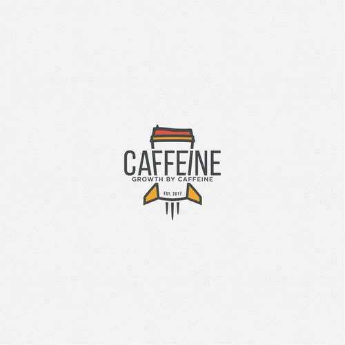 Logo for fun marketing agency, Caffeine Marketing