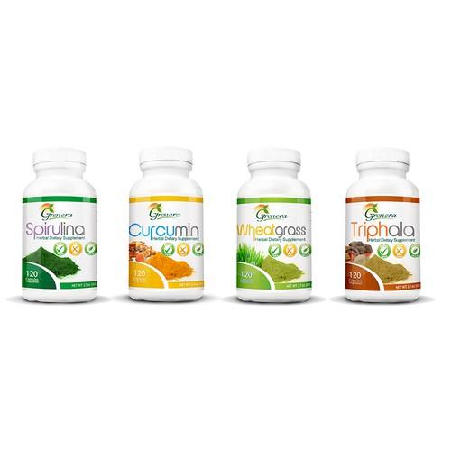 Supplements Labels