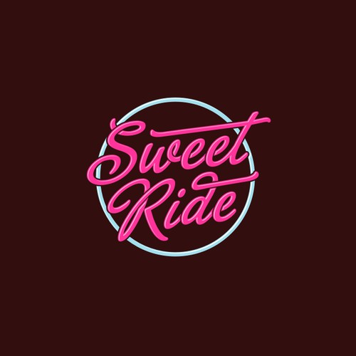 Retro Logo for funky Dessert Bar