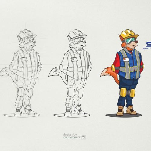 SIAS mascot design