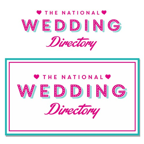 Create a wedding company logo