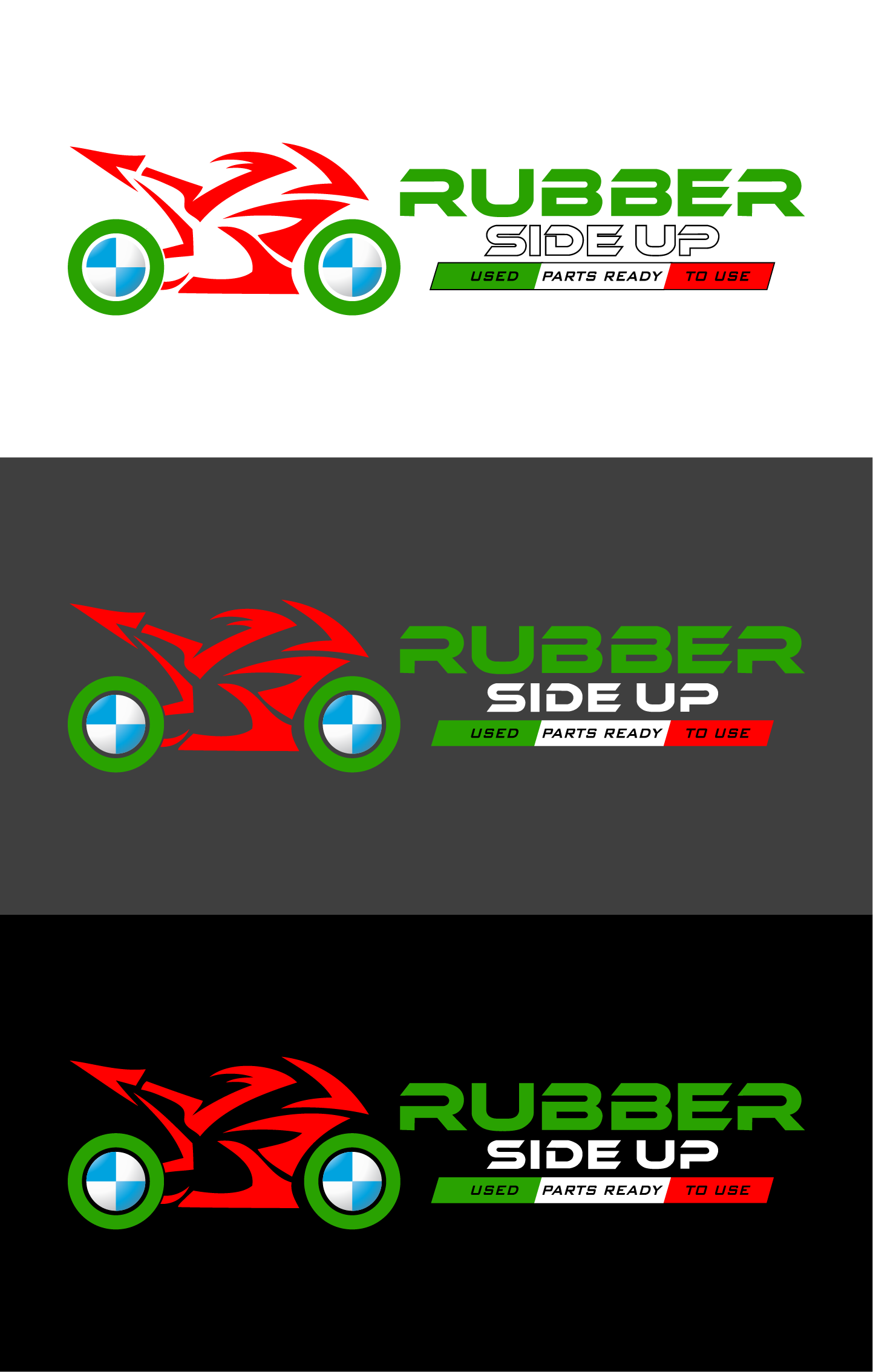 logo for Rubber Side Up