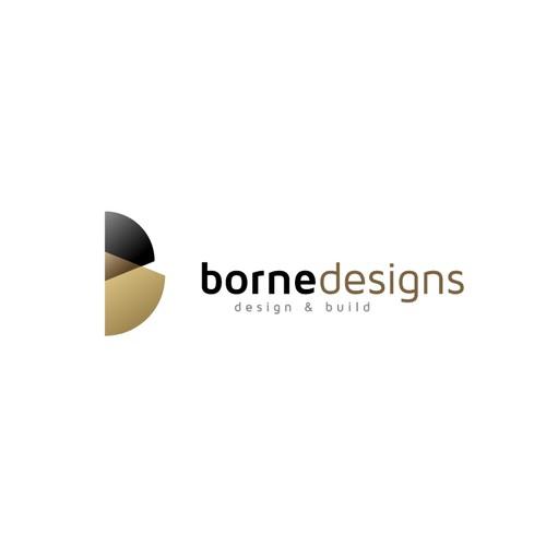Bold Logo concept for Borne designs