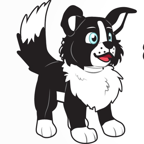 Plush dog concept