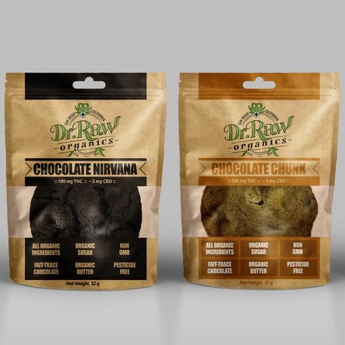 Dr. Raw Organic Cannabis Edible Package