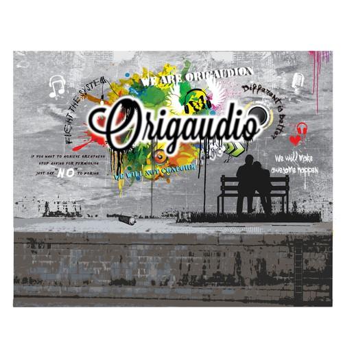 graffiti backdrop