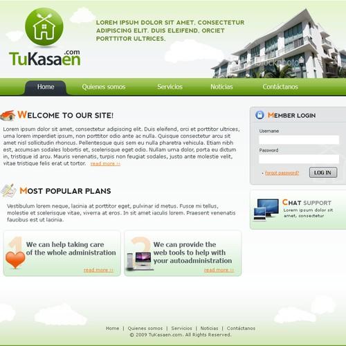 Website Design - Tukasen