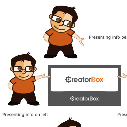 Illustrated character to become brand ambassador for CreatorBox