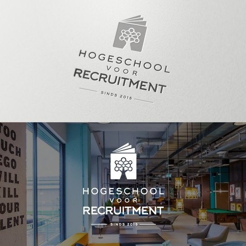 Branding package for a recruitment school
