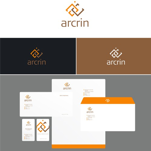Arcrin needs a new logo and business card