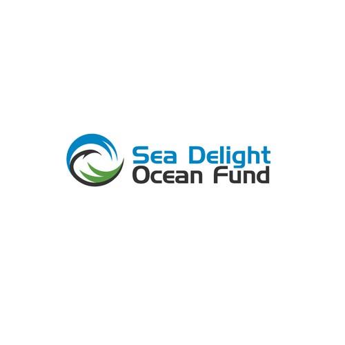 My Winning Logo Design for Sea Delight Ocean Fund