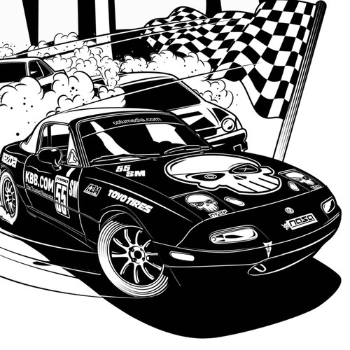 Mazda miata race