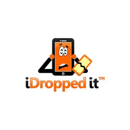 I dropped it Logo 2