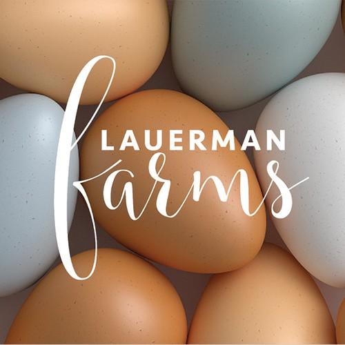 Packaging design for pasture raised eggs.