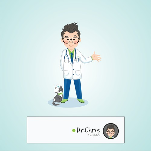Character for healthcare (mobile) app chatbot