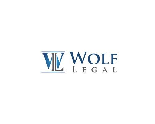 Wolf Legal  needs a new logo