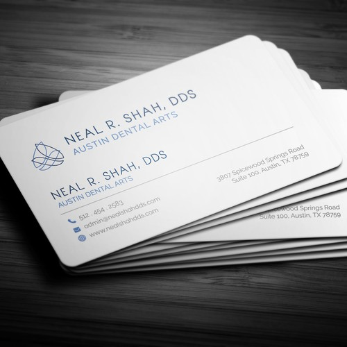 Modern & Simple  Business Card Design