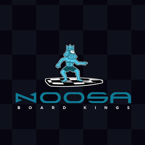 Noosa Board Kings Logo