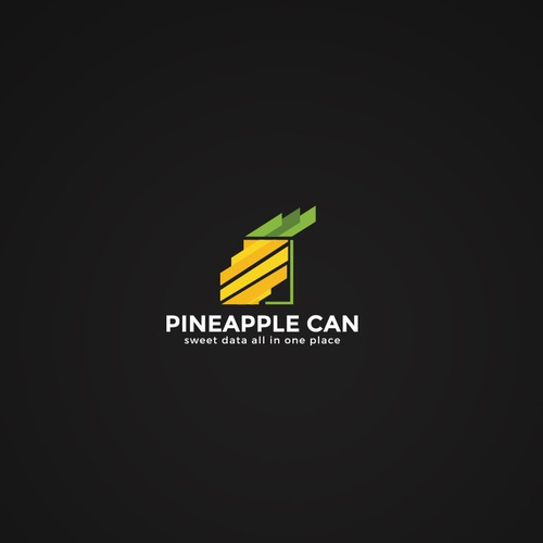 Pineapple Can Logo for New Marketing Company