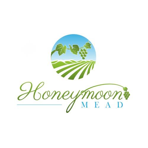***Meadery Logo - Honeybees, Wine, Bees, Beekeeping, Family Owned***