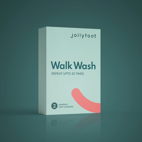 Fun & Happy Packaging Needed for Jollyfoot Sticky Cushions for Your Feet