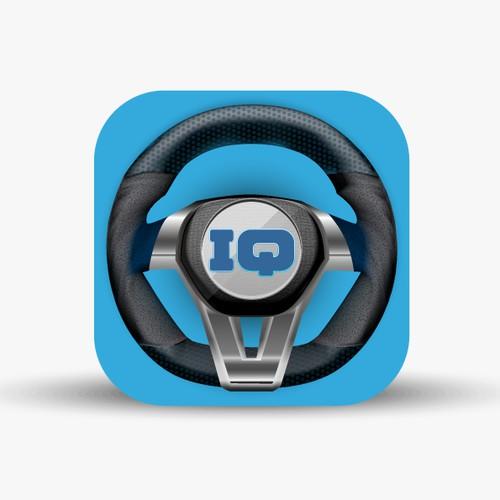 Steering Wheel type app icon