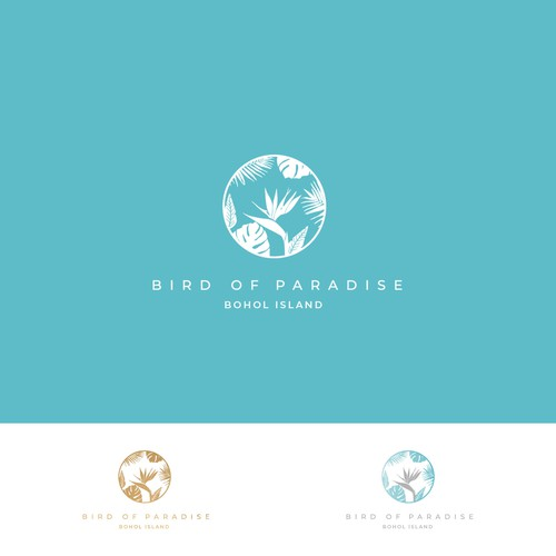 Bird of Paradise Resort Logo