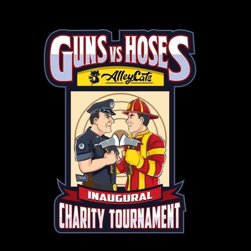 Guns vs Hoses