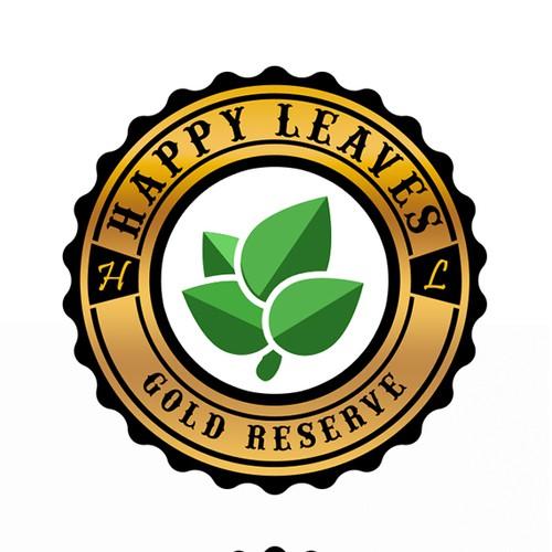 Happy Leaves Logo