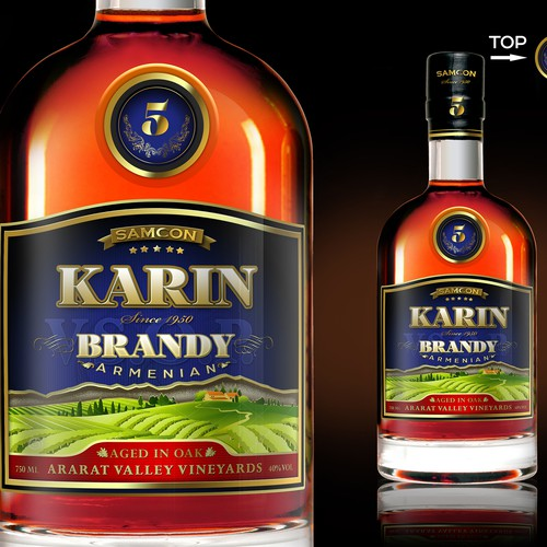 label for brandy