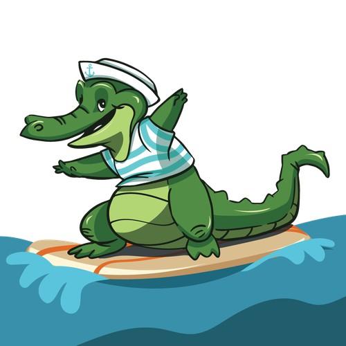 Alligator Mascot for Website