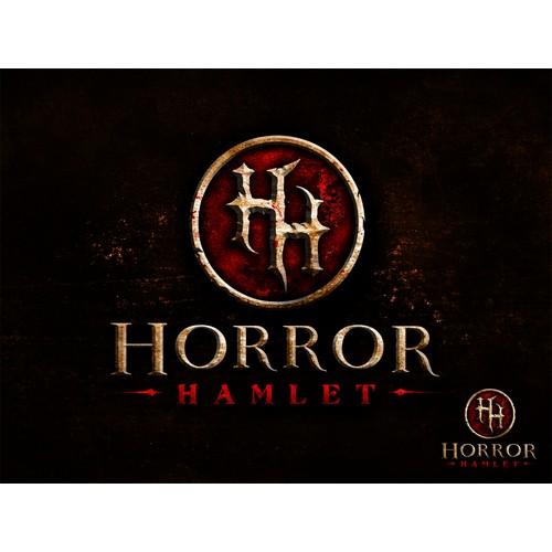 Logo design for upcoming game - Horror Hamlet