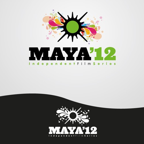 Help Maya Entertainment with a new 4-color logo for their 2012 Maya Independent Film Series