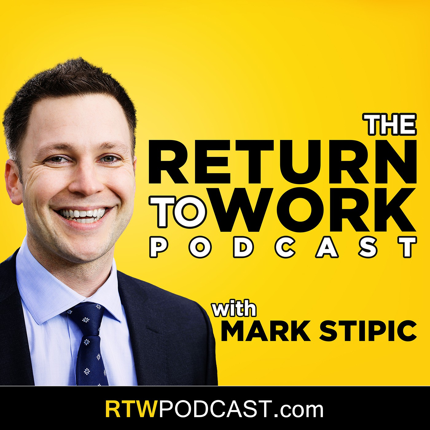 Podcast logo / iTunes cover art: The Return To Work Podcast
