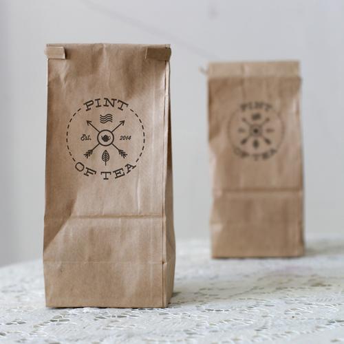 Logo Creation for new herbal tea company Pint Of Tea