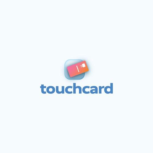 Bold logo for a B2B postcard company