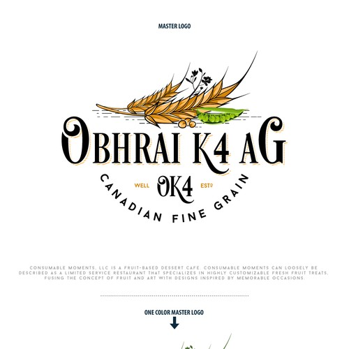 "Logo For ""OK4 - Obhrai K4 Ag Ltd."""