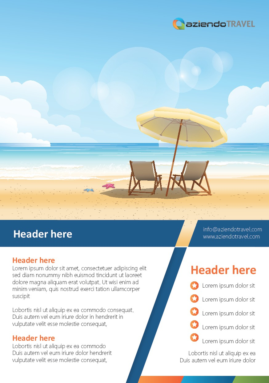 Publications and Styleguide for new Travel Agency - Homebased