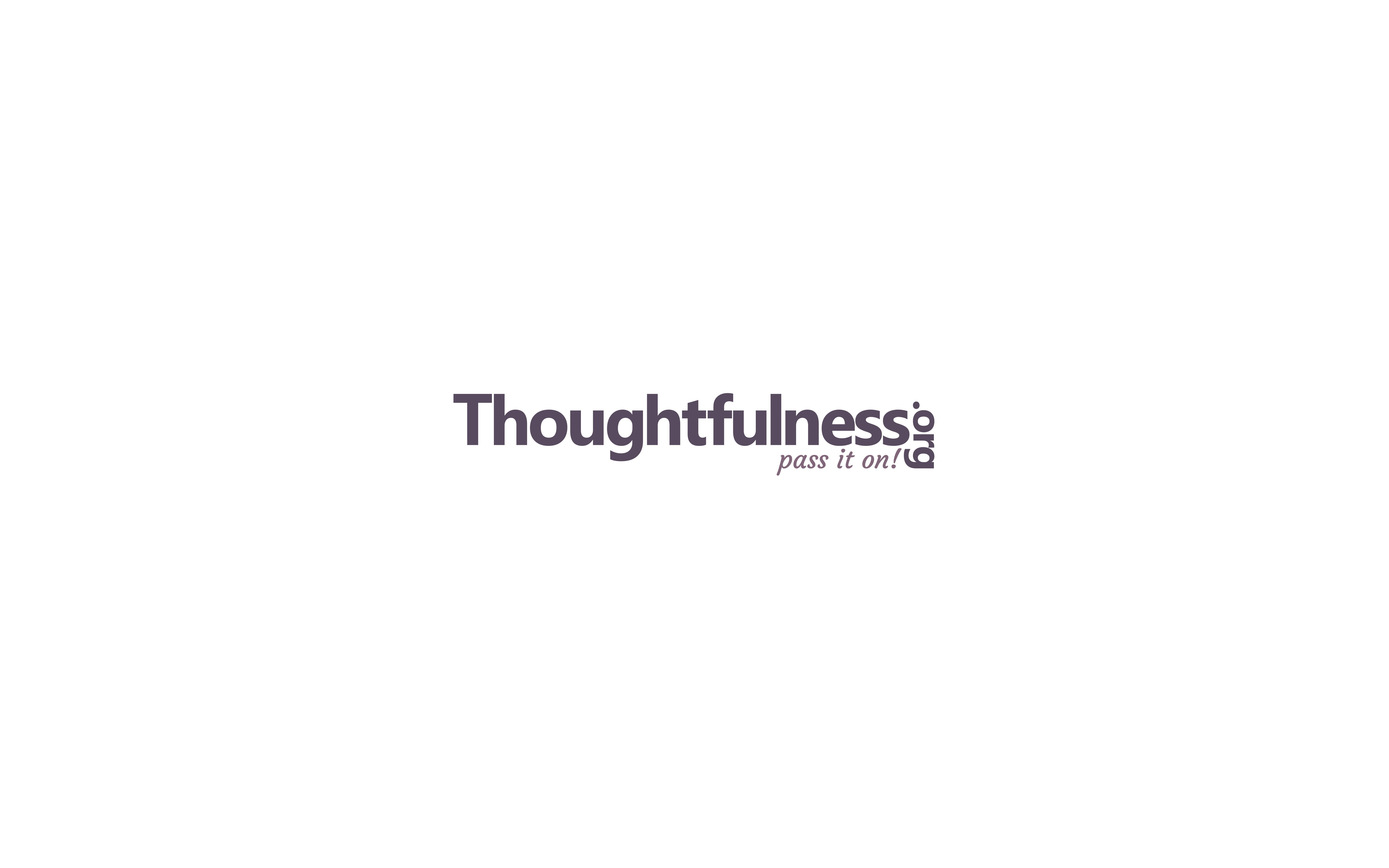 Logo for Thoughtfulness.org